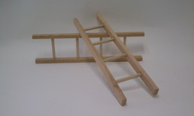 Pedal Car Wood Ladder Pair