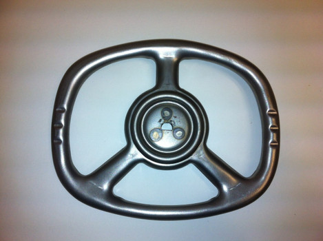 Murray Pedal Car Rectangle Steering Wheel In Bare Metal