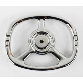 Murray Pedal Car Rectangle Steering Wheel In Chrome
