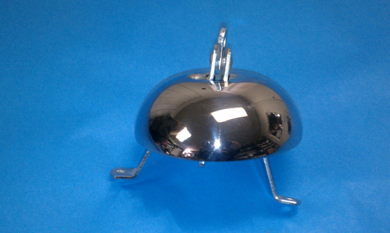 Garton Pedal Car Bell In Chrome