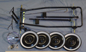 Steel Pedal Car Chassis Kit