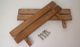 Wooden Side Rails For The Jalopy Pick Up Pedal Car
