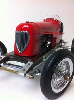Bantam Midget Tether Model Car In Red