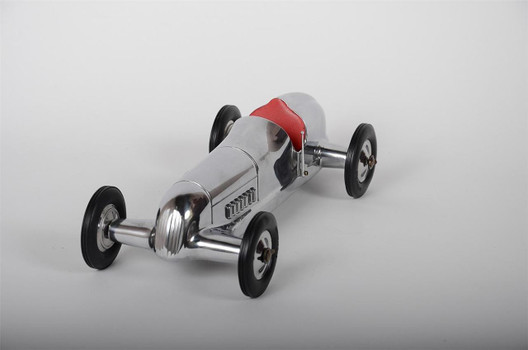 "12"" Indianapolis Spindizzy Model Car With Red Seat"