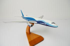 Dreamliner 7E7 Boeing Airplane Wood Model Replica Small