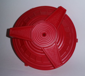 AMF Spinner Hubcap in Red