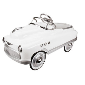 Comet Pedal Car - White