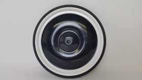 "Jalopy Pedal Car 10"" Tire & Wheel - Drive Wheel - Black"