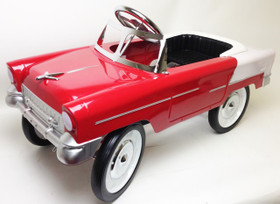 1955 Classic Pedal Car in Red/White      *ON BACKORDER*