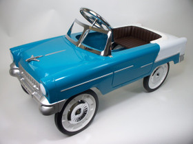 1955 Classic Pedal Car in Aqua/White                 *ON BACKORDER*