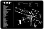 1911 Pistol Cleaning Mat