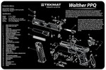 Walther PPQ Pistol Cleaning Mat