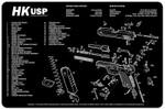 HK-USP Pistol Cleaning Mat