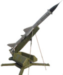 S-75 Soviet Surface-to-Air Missile (SAM) - Training Prop
