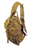 Tactical Sling Bag - Left shoulder strap for right handed users