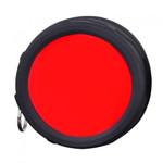 Klarus FT11 Quick attach Flashlight Filter (RED)