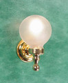 Globe Wall Sconce by Clare-Bell Brass Works