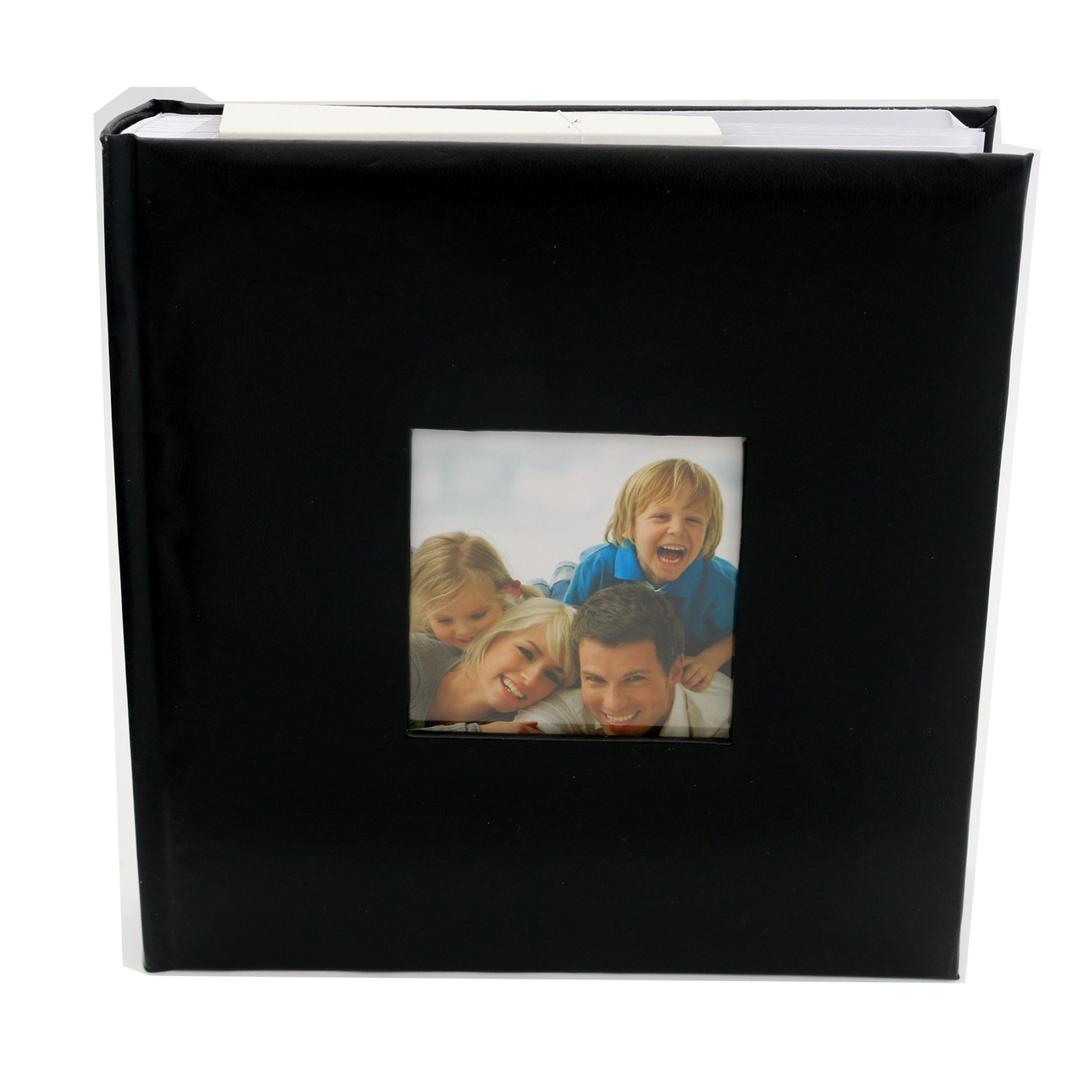 Quality Photo Albums: 200 Photo Slip In Archival Quality Photo Album Plain Black