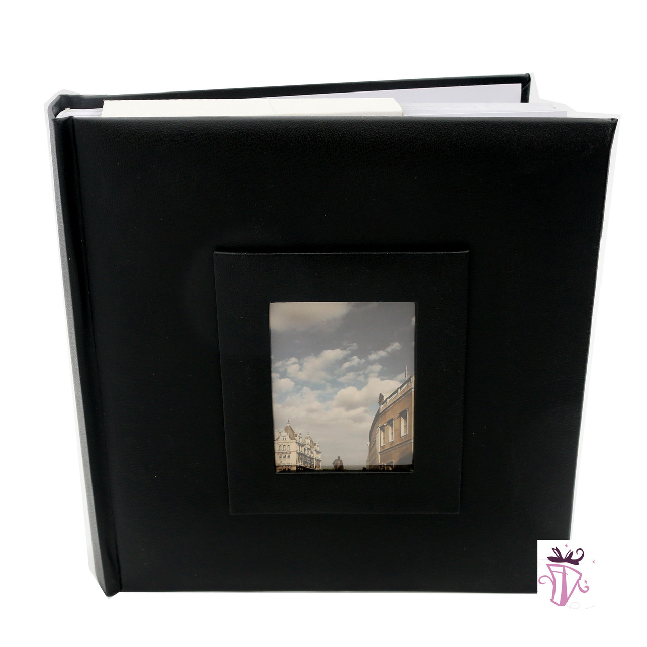 Quality Photo Albums: 200 Photo Slip In Archival Quality Photo Album Black Cover