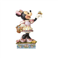 Jim Shore Easter Minnie Figurine