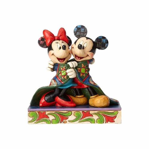 Mickey and Mickey Mouse in Quilt