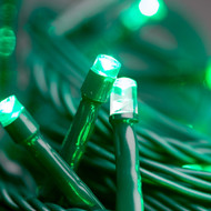 100pc Connectable LED Fairy Lights - Green