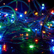 100pc Connectable LED Fairy Lights - Multi Colour