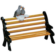 Lemax Bench with Birds