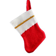 Budget Mini Christmas Stocking - 12cm