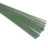 Green Floristry Wire - 45cm