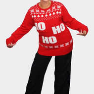 Ugly Christmas Jumper ... HO HO HO
