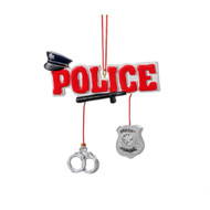 Police Christmas ornament