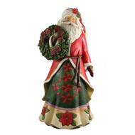Poinsettia Santa