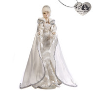 White Polar Queen Doll with Stand