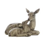 Resin Mother & Baby Deer