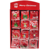 Flashing Christmas Earring or Brooch