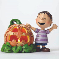 Linus and the Great Pumpkin Peanuts Figurine Jim Shore