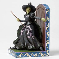 Jim Shore  Wicked Witch Bookend