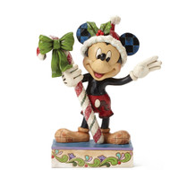 Disney Traditions Mickey Mouse Figurine Sweet Greetings Jim Shore