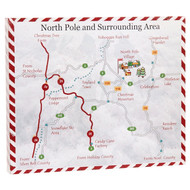 North Pole Map-23cm