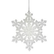 White Acrylic Snowflake Ornament