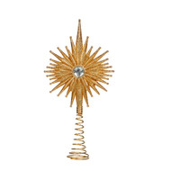 Gold Burst Tree Topper