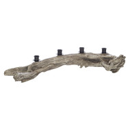 Toronto Resin Driftwood Taper Log
