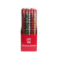 Christmas Baubles in Tube - 40mm