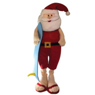 Extendable  Santa Surf  Christmas Decoration