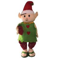 Green Elf Extendable  Christmas Decoration