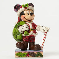 Jim Shore Christmas Mickey Personality Pose Figurine