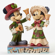 Jim Shore Victorian Mickey and Minnie Figurine