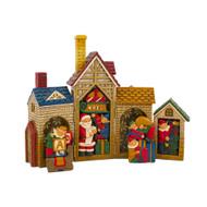 Folding House Puzzle-27 cm