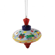 Royal Doulton Christmas Spinning Top Hanging Ornament